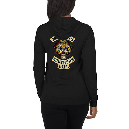 Mayans Color - Unisex Lightweight zip hoodie