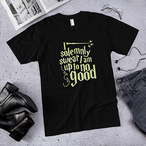 Solemnly swear I am Up to No Good Unisex Jersey T-Shirt