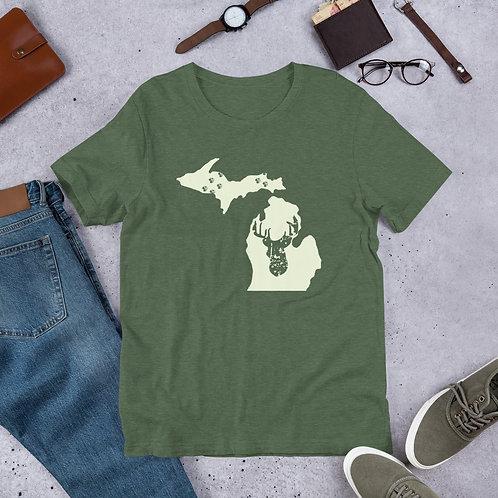 Michigan Hunter - Short-Sleeve Unisex T-Shirt
