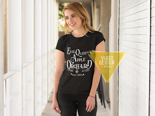 Evil Queens Apple Orchard  Basic Short-Sleeve Unisex T-Shirt