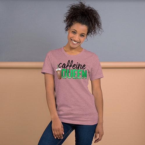 Caffeine Queen - Short-Sleeve Unisex T-Shirt