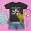 Thumbnail: Rollin into First Grade Rainbow - Basic Youth Short Sleeve T-Shirt