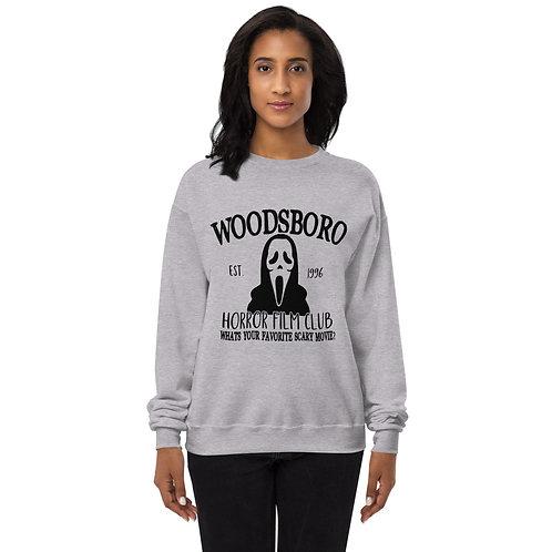 Woodsboro Film Club - Halloween Unisex fleece sweatshirt