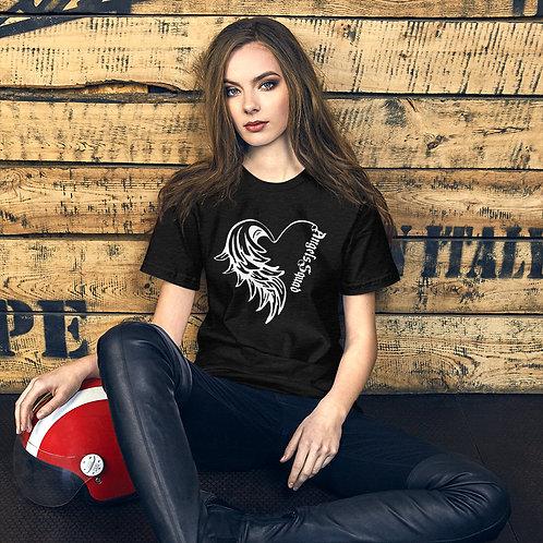 Angels Squad Heart - Short-Sleeve Unisex T-Shirt