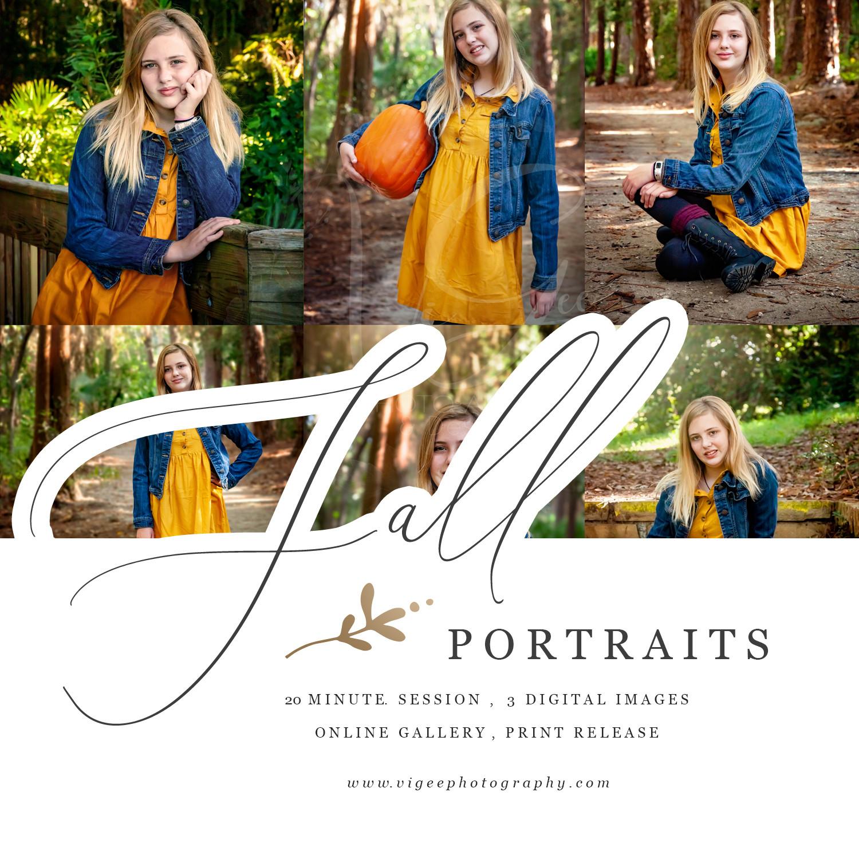 Fall Portrait Session