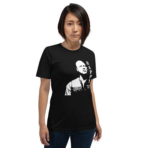 Happy - Short-Sleeve Unisex T-Shirt