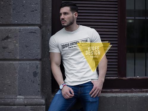 Romero Brothers Scrap Santo Padre Short-Sleeve Unisex T-Shirt