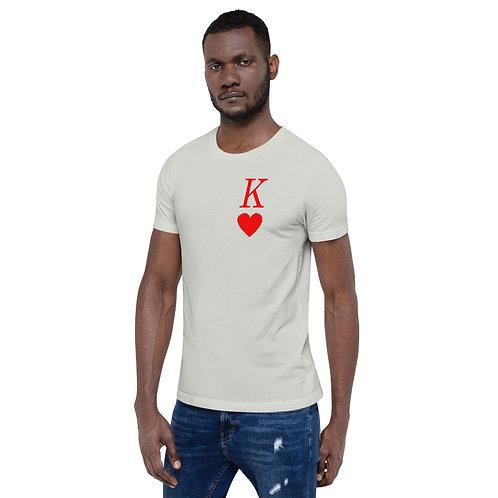 King of Hearts - Short-Sleeve Unisex T-Shirt