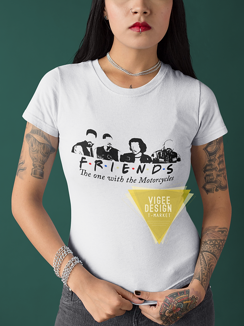FRIENDS The one with the Motorcycles - Short-Sleeve Unisex T-Shirt