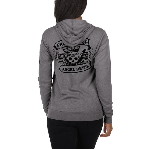 Property of Angel Reyes - Angel King - Unisex zip hoodie