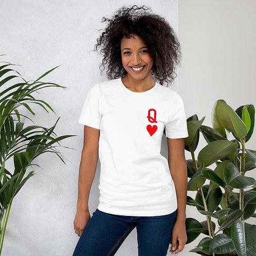 Queen of Hearts - Short-Sleeve Unisex T-Shirt
