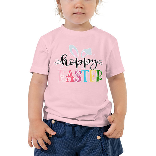 Hoppy Easter - Toddler Short Sleeve Tee