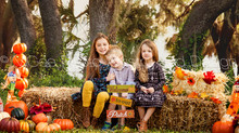 Fall Mini Session with Young family