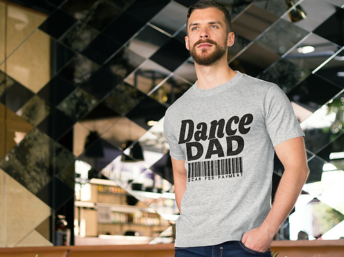 Dance Dad, Scan for Payment - Short-Sleeve Unisex T-Shirt