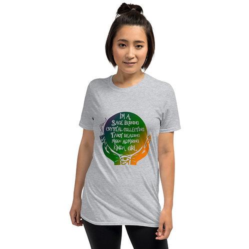 Sage Burning Crystal Collecting Kayrative - Short-Sleeve Unisex T-Shirt