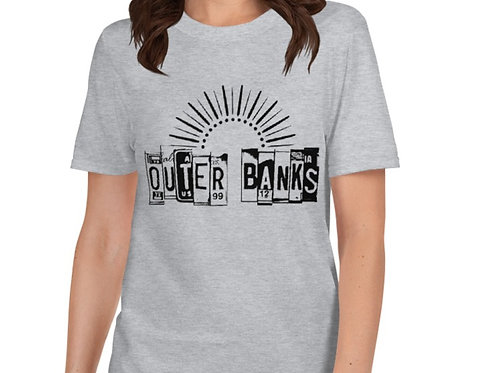 Outer Banks Plates - Basic Short-Sleeve Unisex T-Shirt