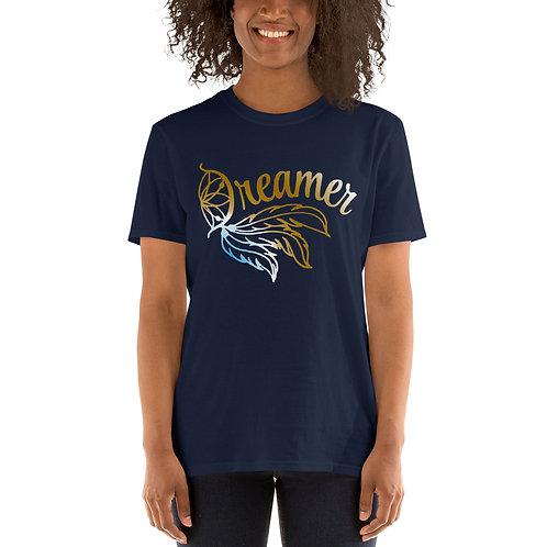 Dreamer Fade Basic Short-Sleeve Unisex T-Shirt