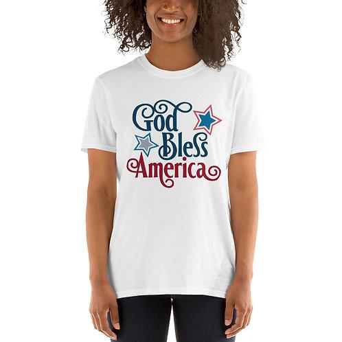 God Bless America - Short-Sleeve Unisex T-Shirt