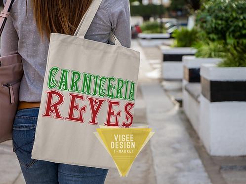 Carniceria Reyes Vinyl Pressed Eco Friendly Canvas Bag - Mayans MC
