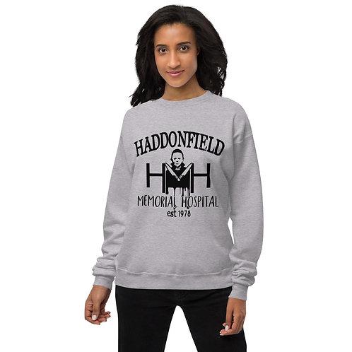 Haddonfield Memorial Hospital Halloween - Unisex fleece sweatshirt