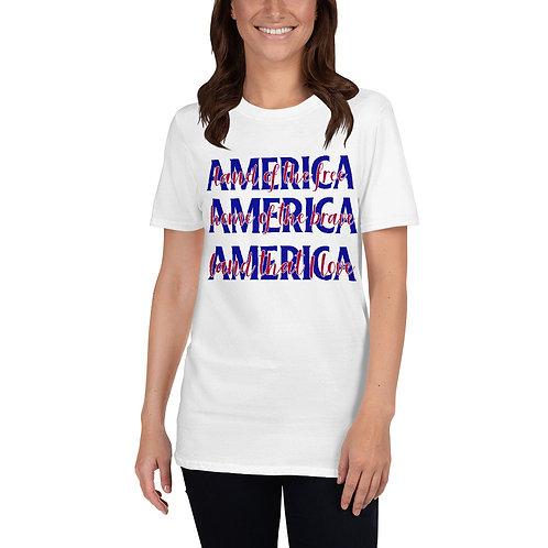 AMERICA Land Home Love - Short-Sleeve Unisex T-Shirt
