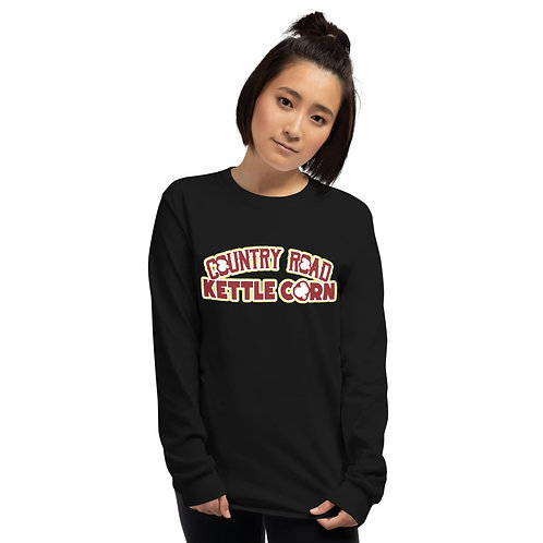 Country Road Kettle Corn What Poppin - Unisex Long Sleeve Shirt
