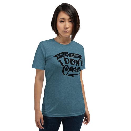 Spoiler Alert- Short-Sleeve Unisex T-Shirt