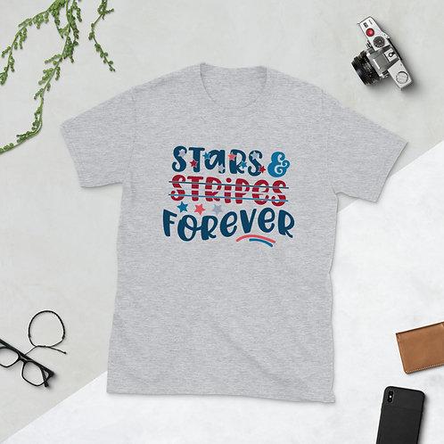 Stars and Stripes forever - Short-Sleeve Unisex T-Shirt