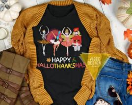Happy HallowThanksMas Ballerinas