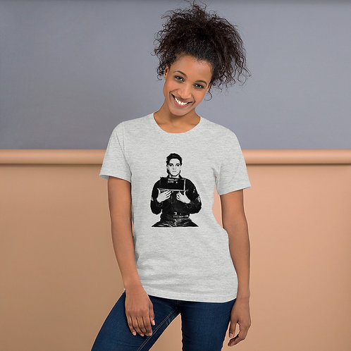 Elvis Mug Shot - Short-Sleeve Unisex T-Shirt