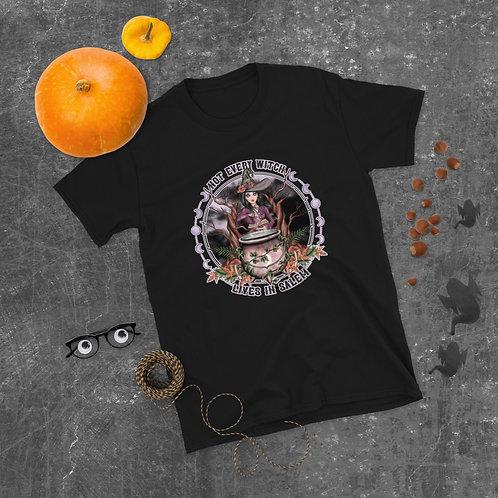 Not Every Witch - Black Vanilla - Short-Sleeve Unisex T-Shirt