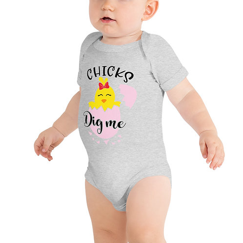Chicks Dig Me - Baby short sleeve one piece