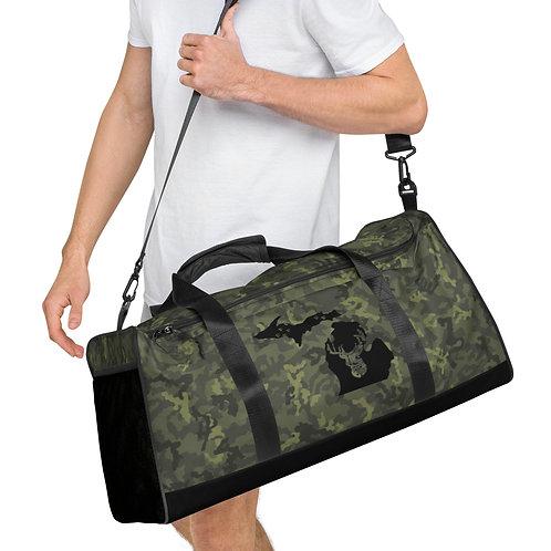Green Camo Michigan Deer Great Outdoors - Duffle bag