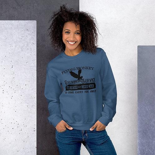 Flying Monkey Delivery Service - Basic Unisex Sweatshirt