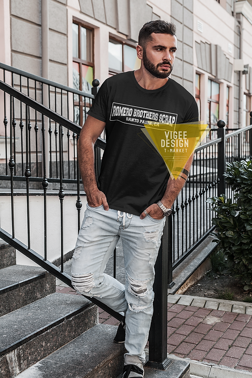 Romero Brothers Santo Padre - Short-Sleeve Unisex T-Shirt