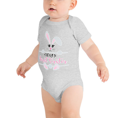 My First Easter - Bunny - Baby short sleeve one piece