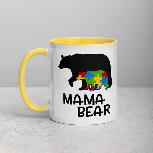 Momma Bear - Mug with Color Inside