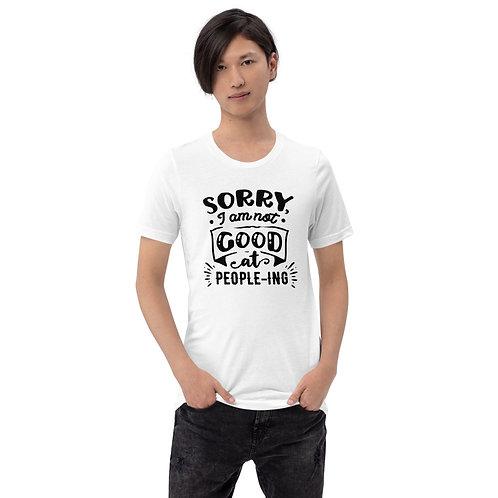 Not good at People-ing - Short-Sleeve Unisex T-Shirt
