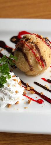 #84. Fried Ice Cream (Vanilla)