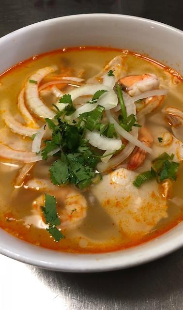 #21. Shrimp & Pork Udon Noodles
