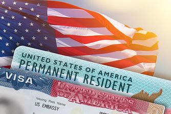 VISA United States of America. Green Card US Permanent resident. Work and Travel documents...SA..jpg