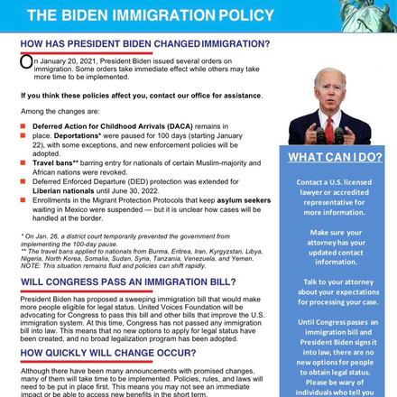 HOW HAS PRESIDENT BIDEN CHANGED IMMIGRATION?