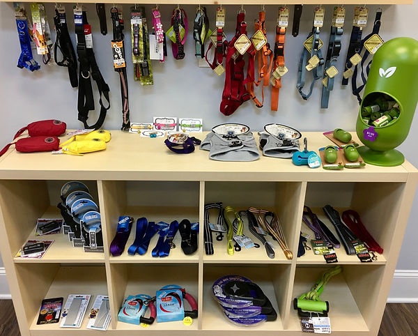 Collars, Harnesses, Leashes, Leads, Pet Waste Bags, Poop Bags, Rain Jackets