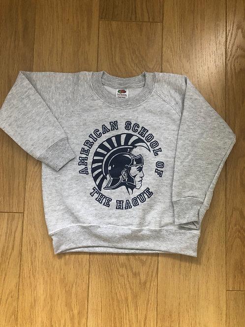 Youth Raglan Sweatshirt w/ Trojan Logo