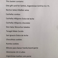 Argentina Basket Description