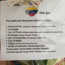 Venezuela Basket description