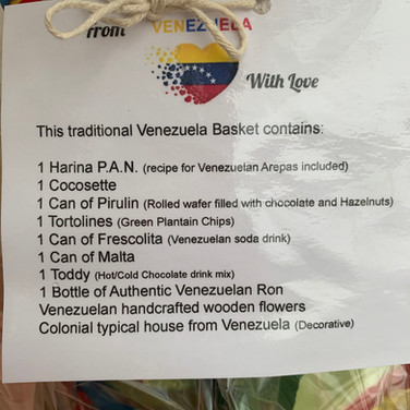 Venezuela Basket description