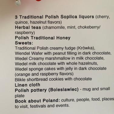 Poland Basket Description