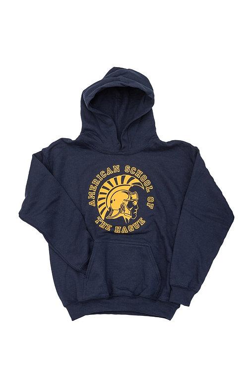 Adult Hoodie Trojan Logo