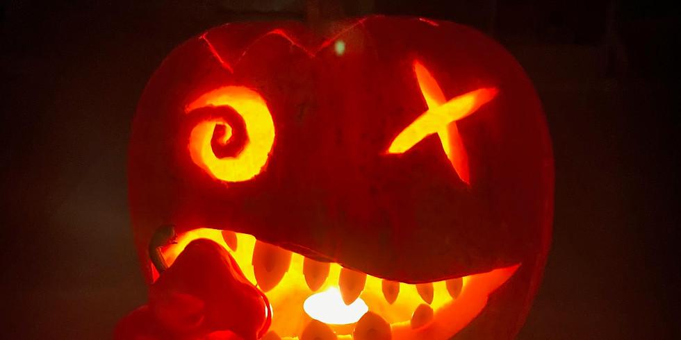 Online Pumpkin Carving Workshop